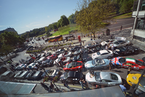 The Cannonball 2000 started in Park Lane last year