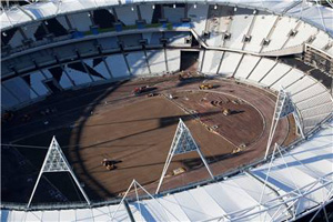 Latest pictures show Olympic Park progress: gallery