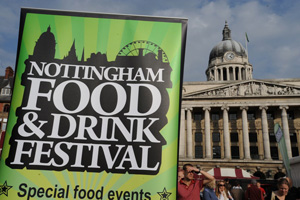 Nottingham Food and Drink Festival sets ambitious visitor target