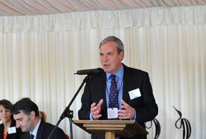 Eventia's chairman Simon Hughes