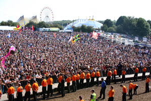 Scouts to help clean up Reading Festival