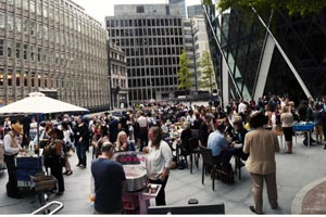 London Launch attracts guests at Seaside in the City