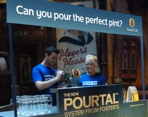 Learn how to pour that perfect pint