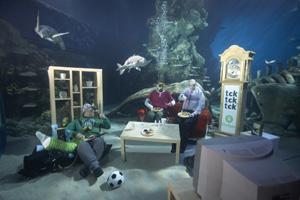 Beatwax behind Oxfam's underwater shoot