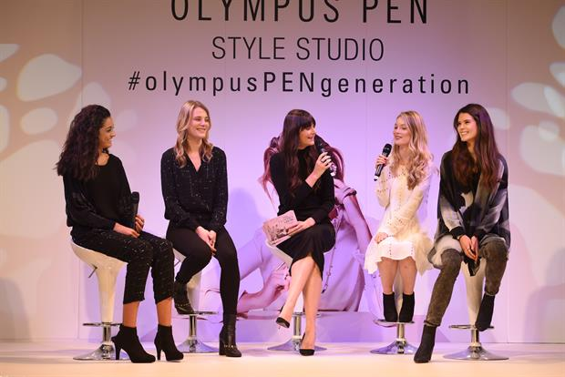 The Clothes Show show saw activations from Olympus Pen and Citroën