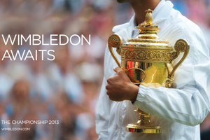 Wimbledon Awaits campaign created by Space