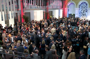 The throngs gathered for the AEO Awards