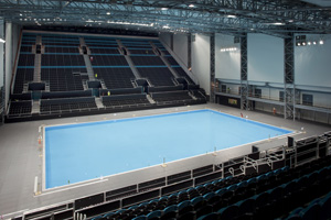 Olympic water polo venue complete
