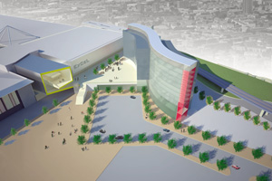 Plans for the new Excel London hotel