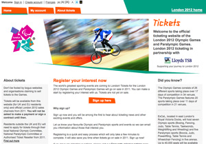 10,000 an hour register for 2012 Olympics tickets