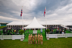 Piggots' marquees at Guards Polo Club