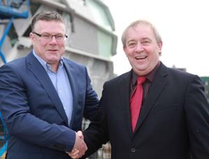 Mark Harding and John Sutherland