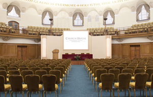 Church House Conference Centre sees 58% rise in advance-bookings