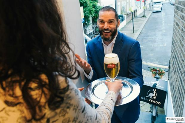AB InBev enlisted the services Fred Sireix - star of Channel 4's First Dates