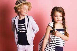 The runway shows will feature designer kids clothing