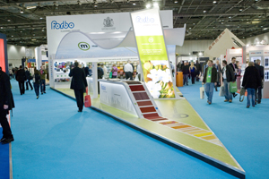 Shows like Ecobuild are inlcuded in the two-year contract