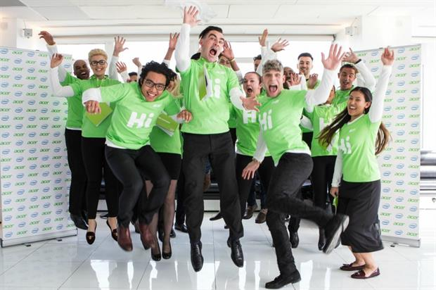 Acer to host experiential activity at Westfield Stratford