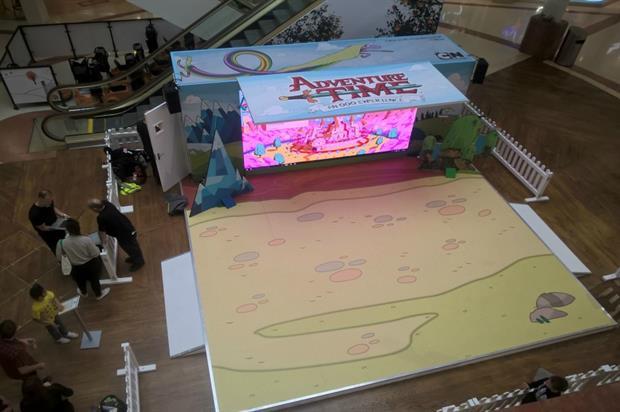 Cartoon Network: interactive Adventure Time experience
