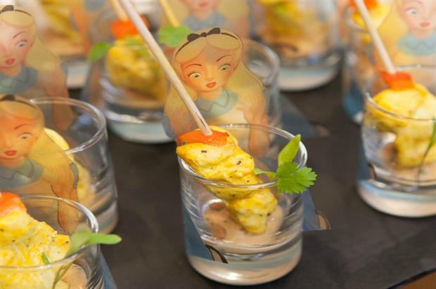Alice in Wonderland-themed food