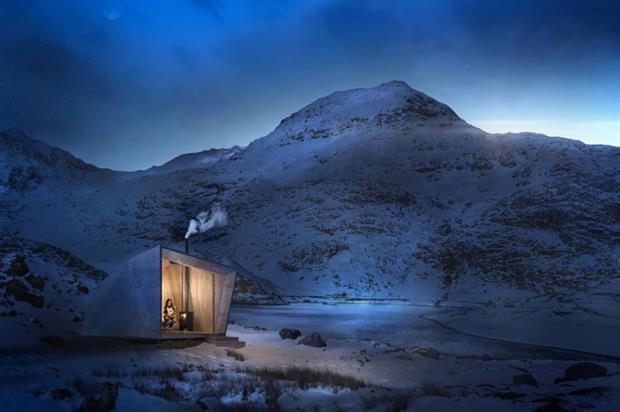 Arthur's Cave: one of eight pop-up boutique retreats