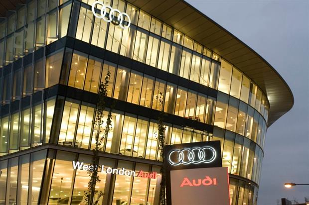 The Audi showroom will soon deliver an immersive experience