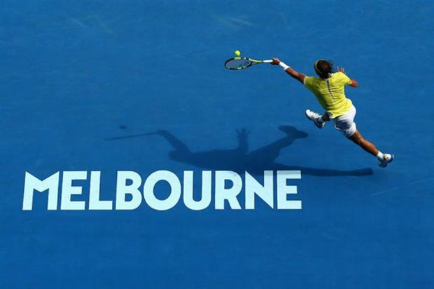 A number of brands are activating throughout the tournament (@AustralianOpen)