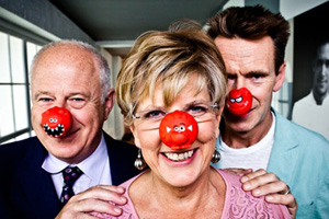 The banquet will be in honour of Comic Relief
