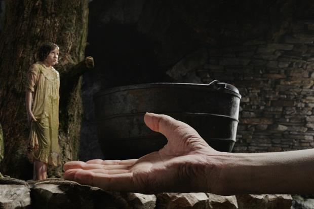The film - Big Friendly Giant - is based on an adaptation of Roald Dahl's famous children's book The BFG