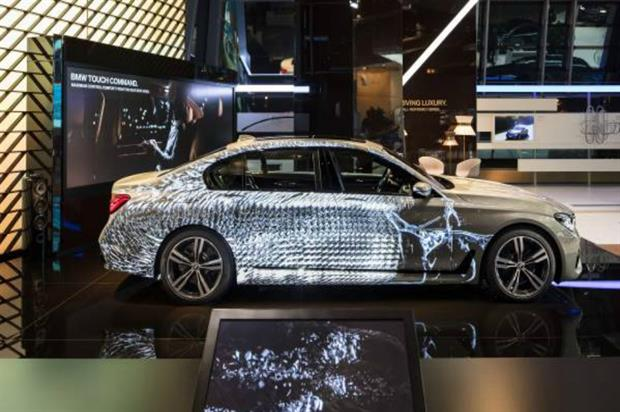 BMW: projection mapping brings BMW 7 Series to life