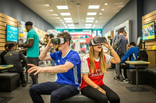 BT Sport: taking VR to EE stores