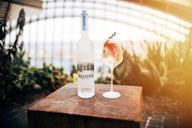 Belvedere Vodka will launch its Sunset Sessions next month