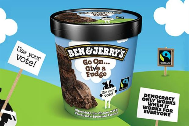 Ben & Jerry's is encouraging Londoners to vote by offering them free ice cream (benjerry.co.uk)