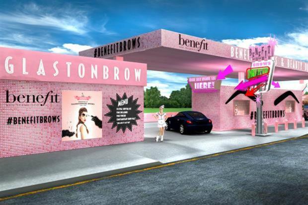 Benefit: Glastonbury activation