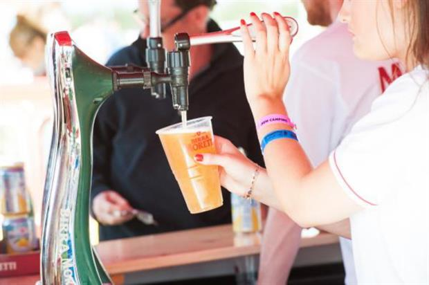 Birra Morretti will host experiences at The Big Feastival this weekend