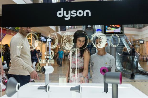 Dyson opens Bluewater pop-up to showcase technology