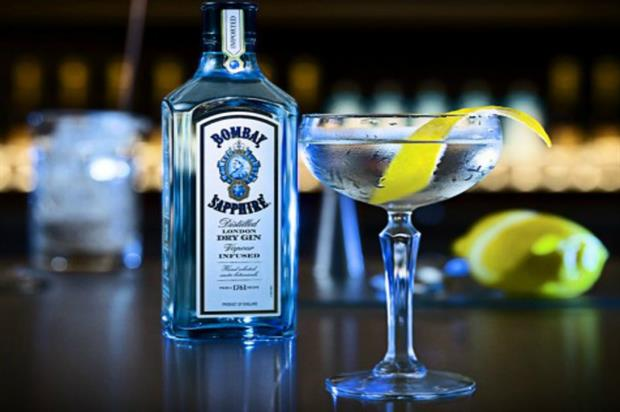 Bombay Sapphire: supporting two days of lectures