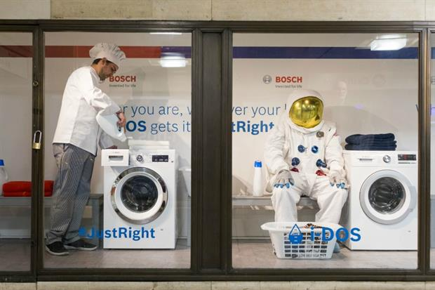 Bosch launches 3D advertising campaign in central London
