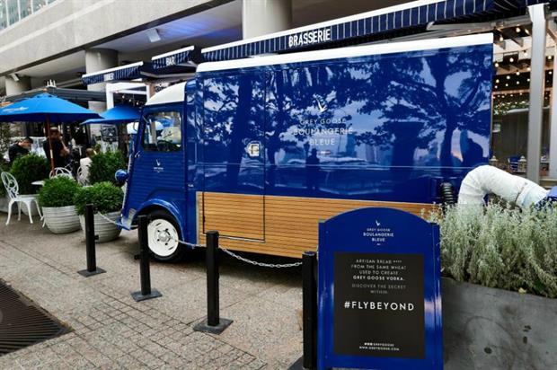 Grey Goose's Boulangerie Bleue: New York launch