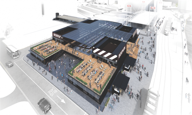 Boxpark Croydon: new venue