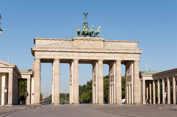 Berlin: iconic Brandenburg Gate