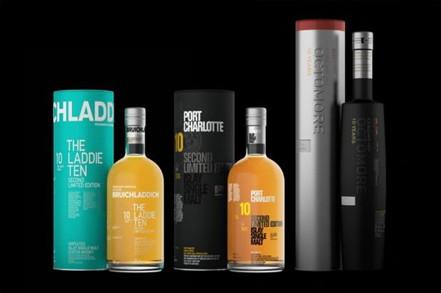 Bruichladdich: preparing for Burns Night