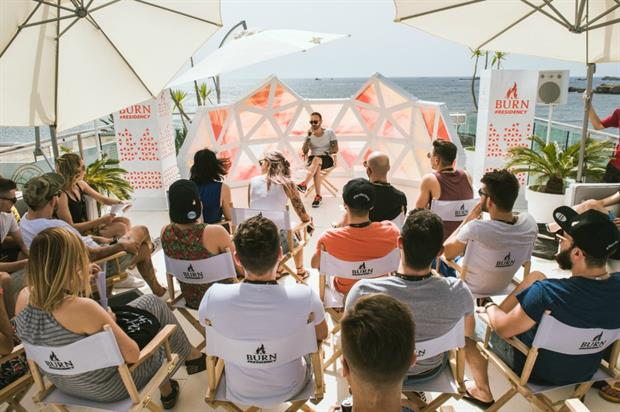 Burn energy drink teams up with Amplify to stage #BurnResidency DJ competition in Ibiza