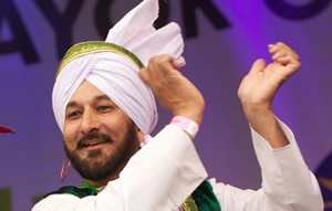 Vaisakhi is the holiest day in the Sikh calendar