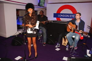 VV Brown performs live set at Love London party