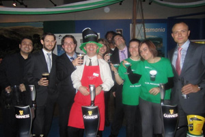 St Patrick's Day at Vinopolis: picture gallery