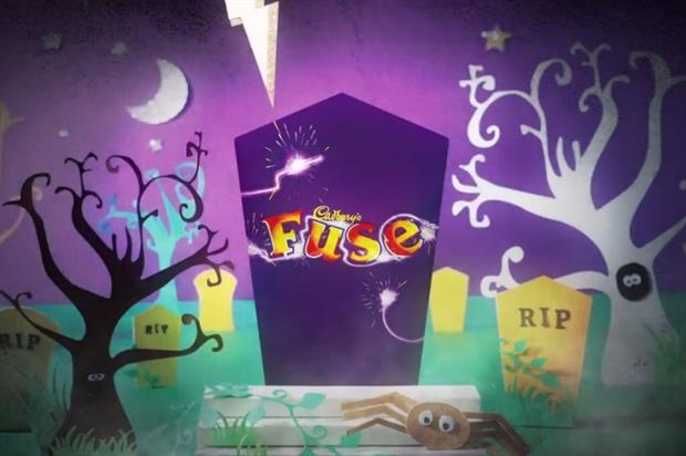 Cadbury is bringing either its Fuse or Marble bar back for Halloween (@CadburyUK)