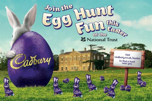 Last year Cadbury attracted more than 270,000 egg hunters to its events