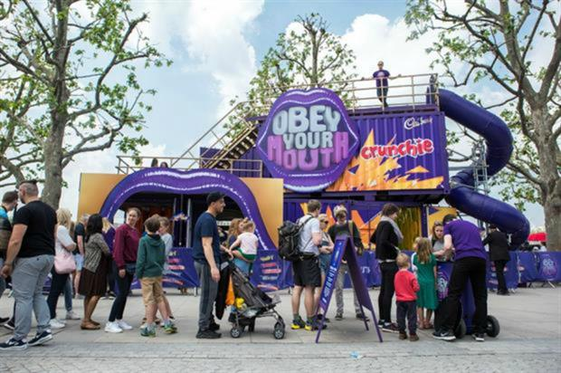 Cadbury: at Wireless Festival this weekend (8-10 July)