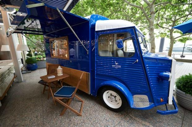 Grey Goose's Camionette: hosting private consultations