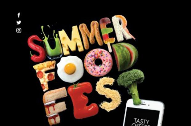 Summer food tasting pop-up launched at Hammerson shopping centres